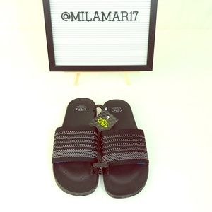 Nwt Athletic Works Mens Slippers